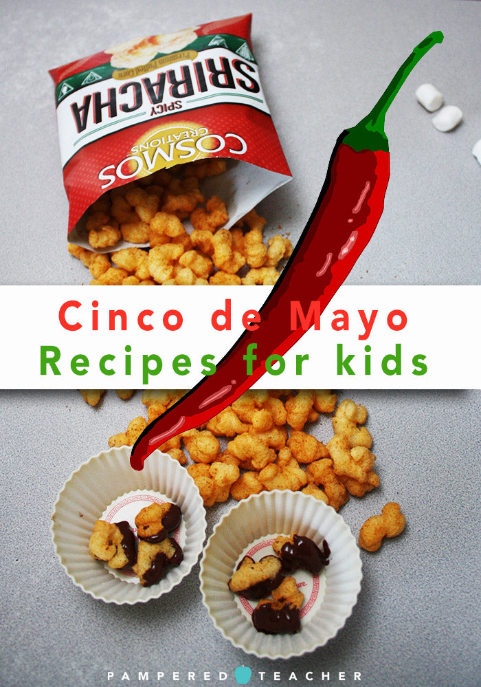 Cinco de Mayo kid-friendly recipes to celebrate in the classroom from Pampered Teacher