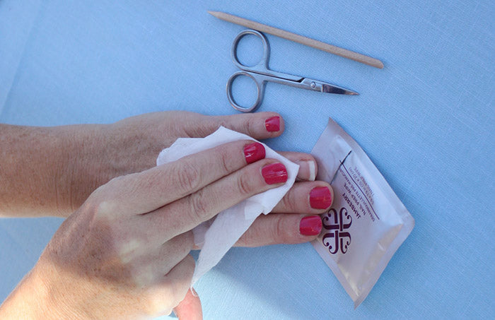 How to prepare nails for Jamberry nail wraps