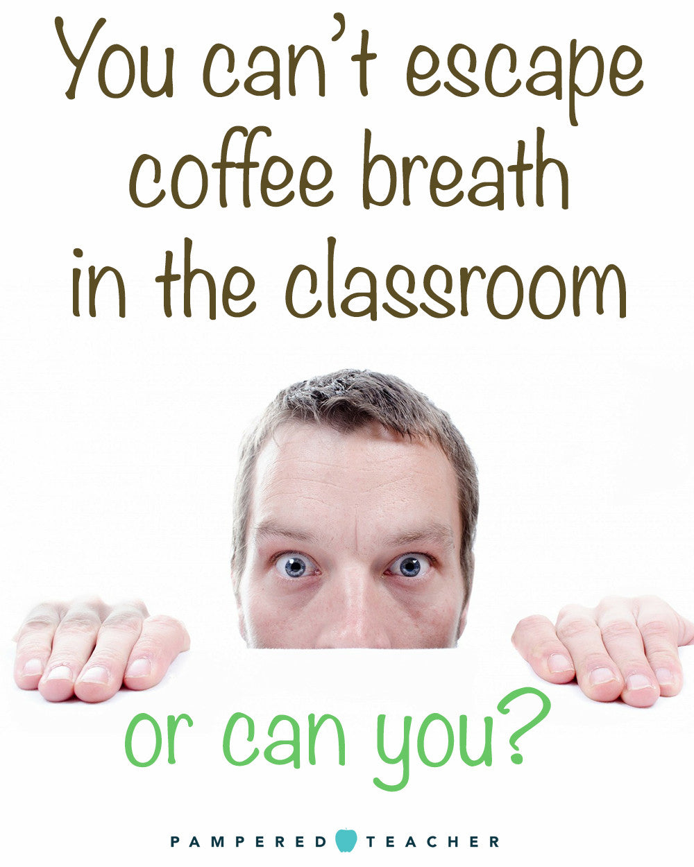 Remedies for bad coffee breath for teachers. Great gift idea for end of year male teacher gift especially | learn more at Pampered Teacher | product being featured in upcoming subscription boxes