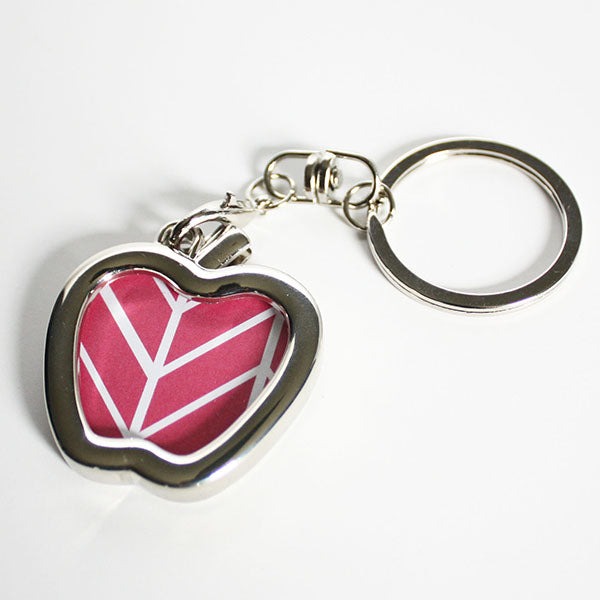 Apple shaped frame keychain from Pampered Teacher - the perfect back-to-school gift for teachers under $10