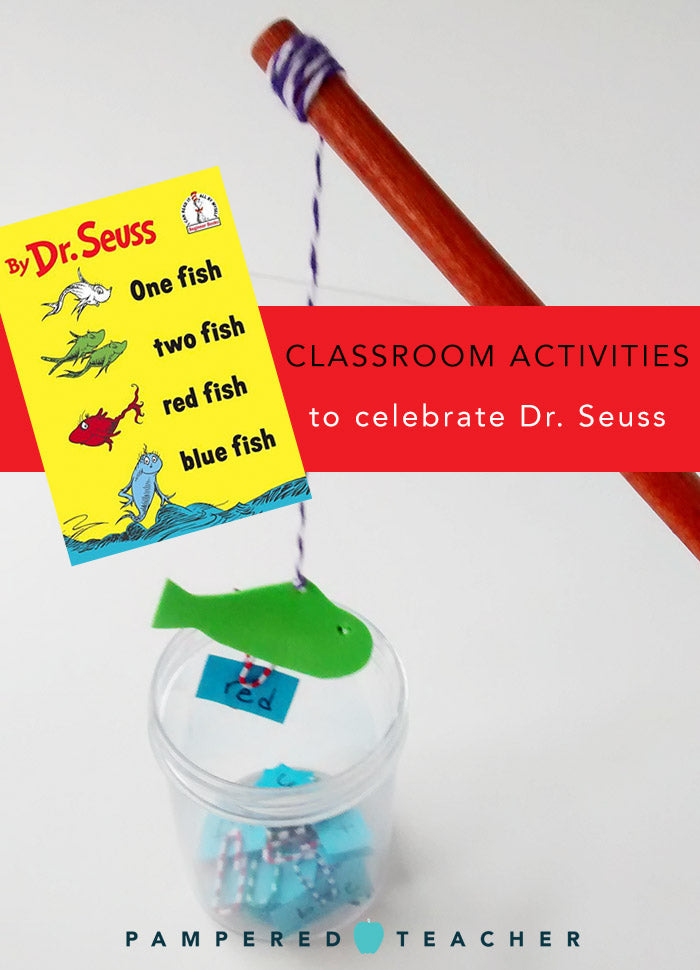 Dr Suess craft and activity ideas for pre-school students from the Pampered Teacher blog