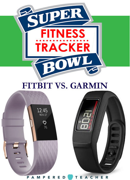Compare fitness Trackers Fitbit Charge 2 and Garmin vivofit which is the best choice for teachers