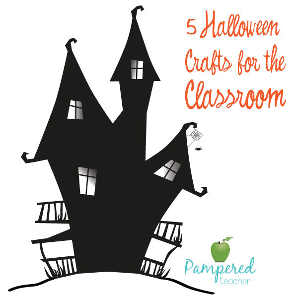 5 halloween crafts for classroom teachers from pampered teacher - Halloween Crafts For The Classroom