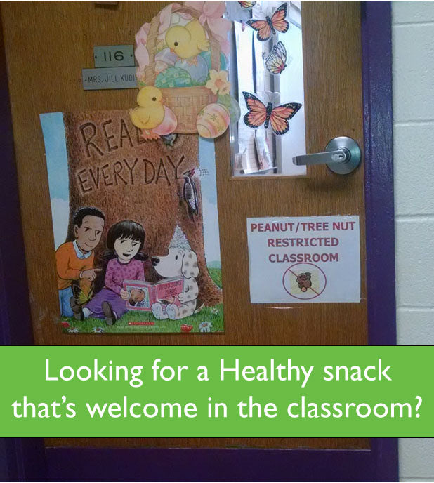All-natural healthy snack that's welcome in all classrooms being featured in the Pampered Teacher subscription box