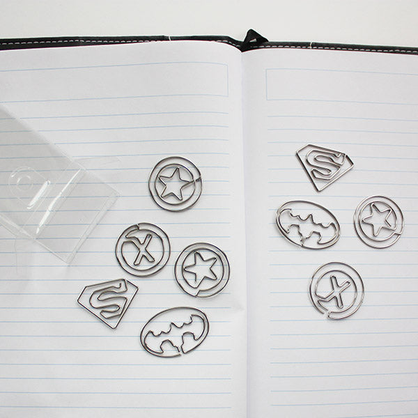 Superhero paper clips from Pampered Teacher. Need the best male teacher gifts? Check out all their fun, unique gift ideas for teachers
