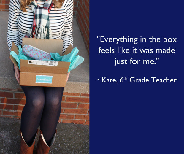 Pampered Teacher Subscription Box review from Kate's Classroom Café