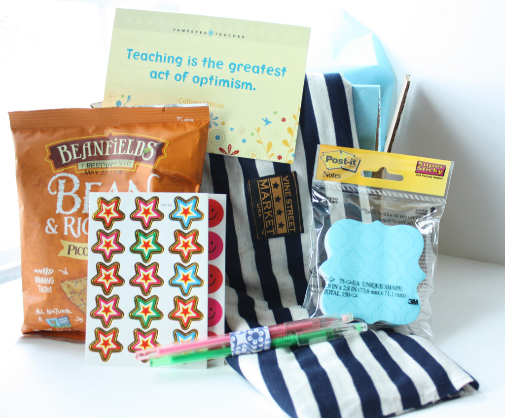 Teacher gifts for end of year, back to school, holiday say thank you to a new, first year teacher, retirement, birthday
