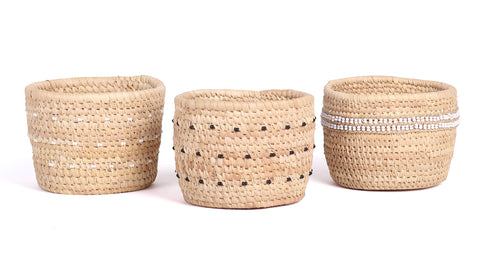 Nomadic Beaded Baskets