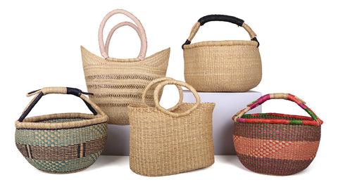 Bolga Shopping Baskets