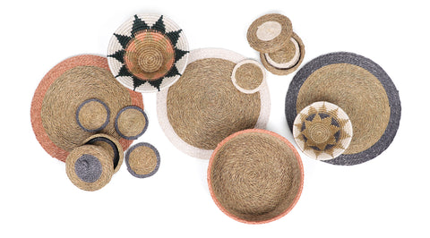 Swazi Bowls and Bread Baskets