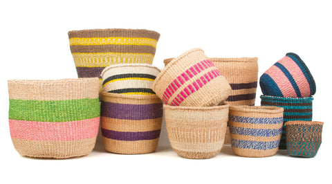 Unique Woven Planter Baskets