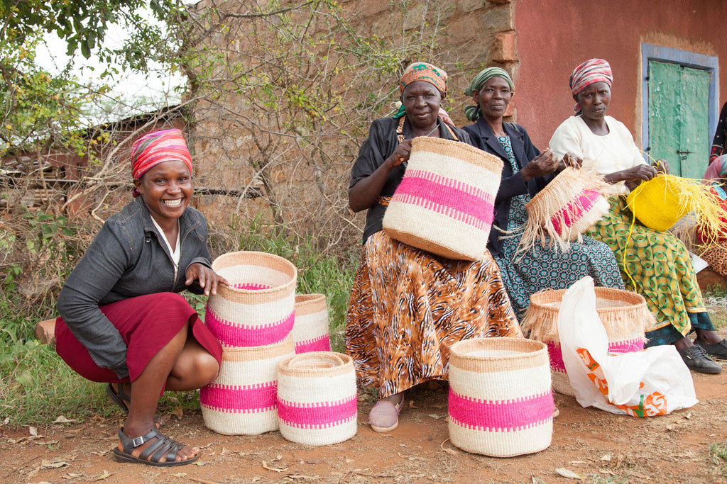The Basket Room Kenyan Weavers