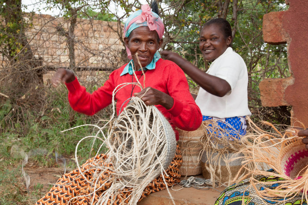 The Basket Room Kenyan Weavers International Womens day