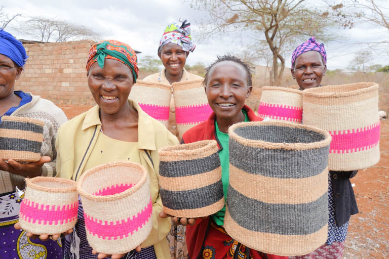 Interntional Womens Day The Basket Room Weavers kenya