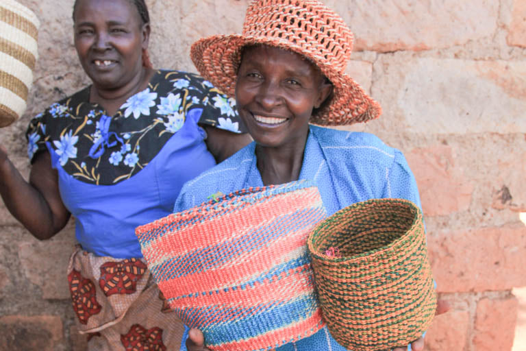 The Basket Room Weaving Cooperatives Kenya