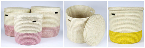 Woven Laundry baskets