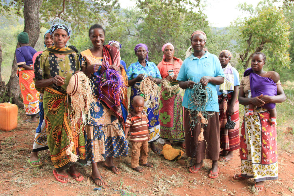 The Basket Room Village Weavers in Kenya