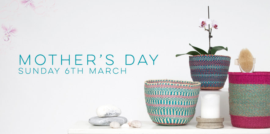 The Basket Room Ethical Mothers Day Gifts Handmade Baskets