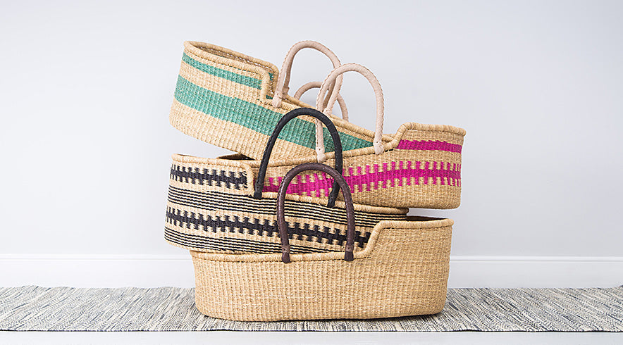 How To Weave A Moses Basket : Moses baskets ethical and handwoven in ghana the