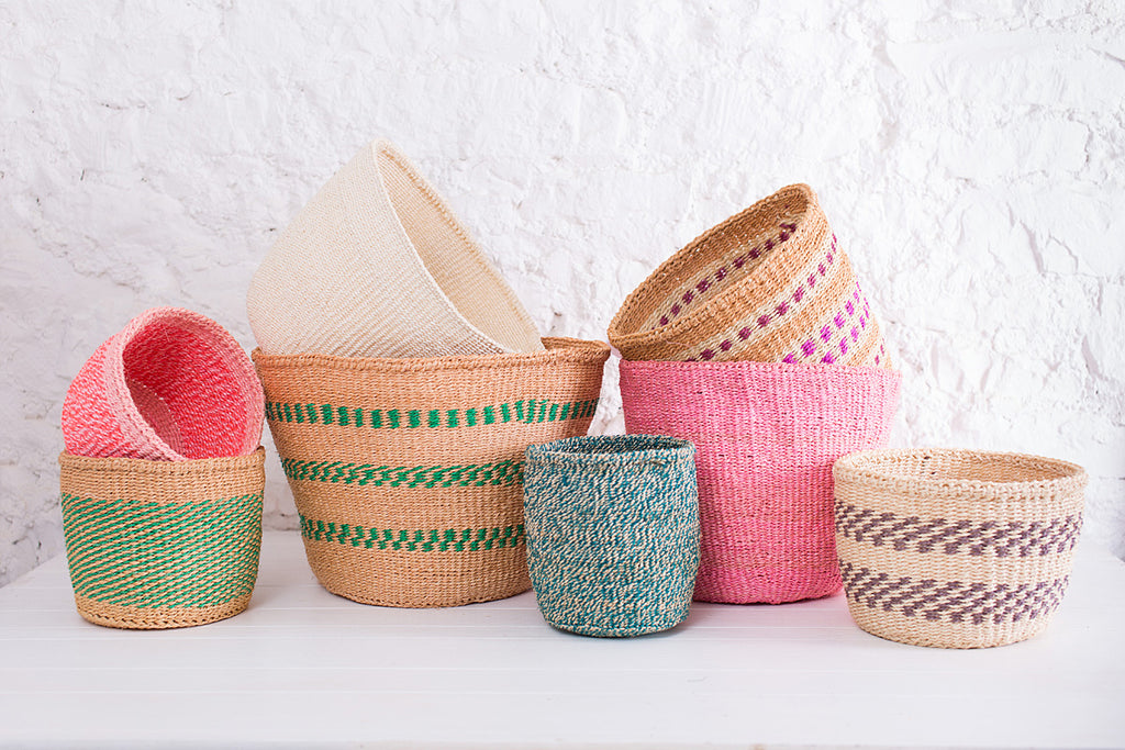 The Basket Room New Neutral Pastel Baskets
