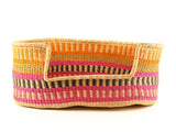 JEMA: Neon Patterned Dog Basket - Large
