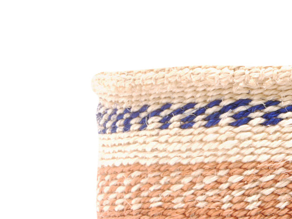 BINZARI: Small Brown Sisal Basket