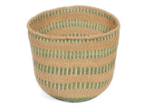 MUDA: Medium Green Sisal Basket