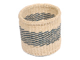 REJEA: Extra Small Teal Sisal Basket