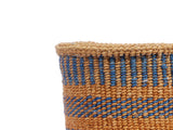 MAGOTI: Extra Small Blue Sisal Basket