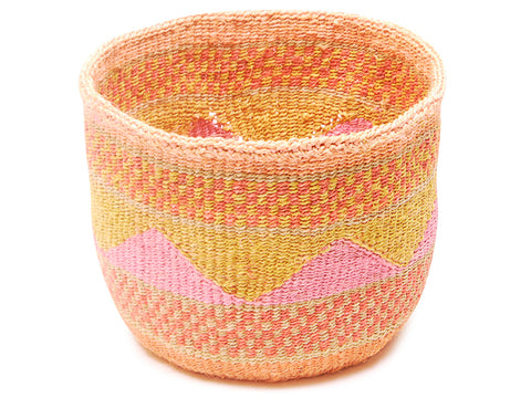 JIBU: L - Sisal Basket - The Basket Room