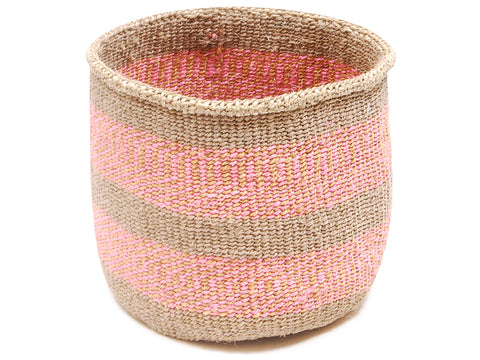 PICHA: Blue and Orange Stripe Bread Basket