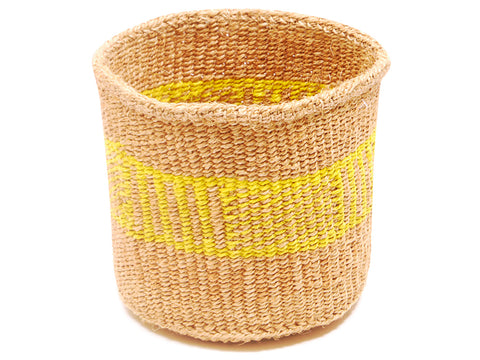 MASAA: Brown Stripe Bread Basket
