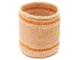 PENDWA: Brown Stripe Bread Basket