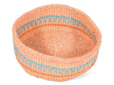 TUSONGE: Blue and Orange Bread Basket