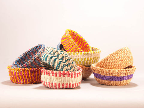 Mini Sisal Basket - The Basket Room   - 1