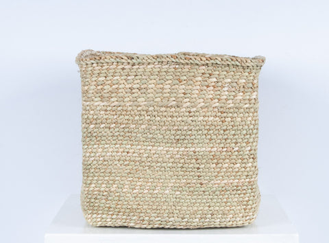 RAHISI: Natural Square Storage Baskets