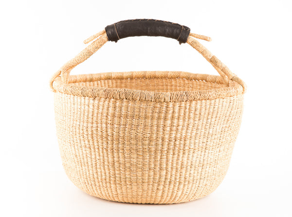 DETSI: Round Market Bag - Market Basket - The Basket Room