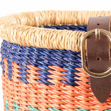 YENDI: Child's Blue Patterned Bike Basket