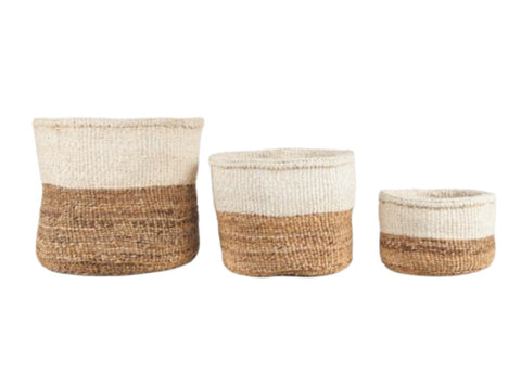 NDIZI: Banana Fibre and Sisal Basket