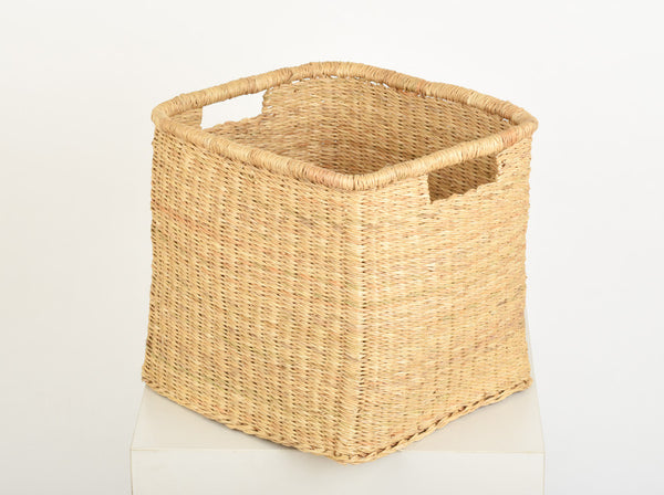 MRABA: Natural Square Baskets - The Basket Room   - 4