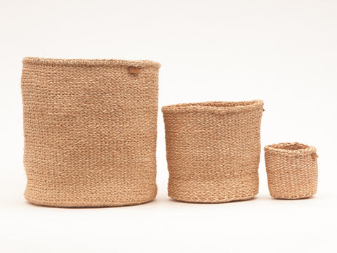 UTULIVU: Natural Woven Storage Basket
