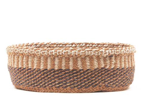 KICHWA: Brown, Black and Natural Bread Basket