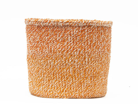 KAMA: Medium Brown Sisal Basket