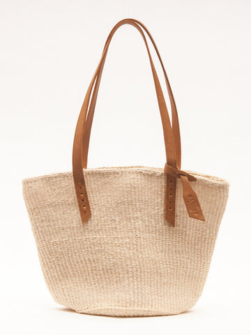UHAI: Handwoven Natural Sisal Tote Bag