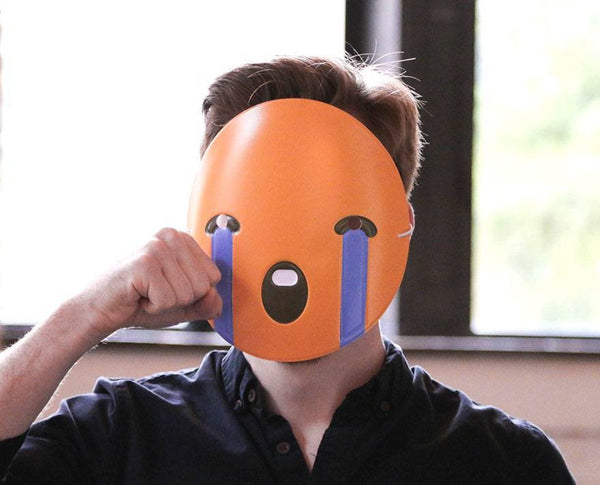 Crying Emoji Mask