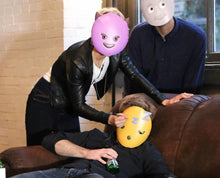 Load image into Gallery viewer, Sleepy Emoji Mask