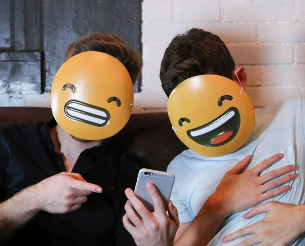 Grin Emoji Mask