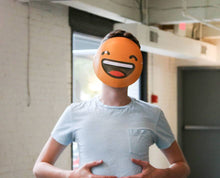 Load image into Gallery viewer, Laughing Emoji Mask
