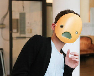 Shocked Emoji Mask