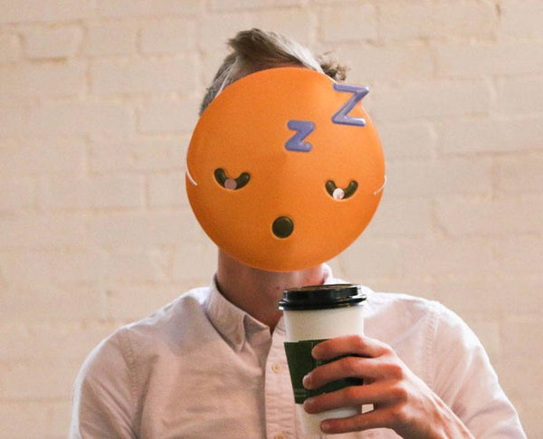 Sleepy Emoji Mask